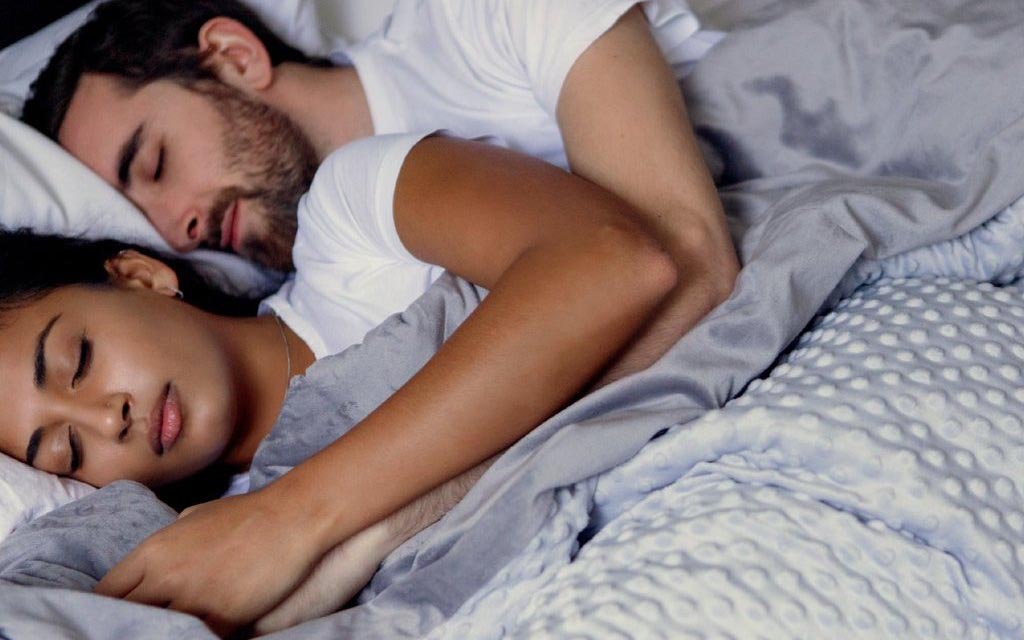Can a weighted blanket help me sleep better?