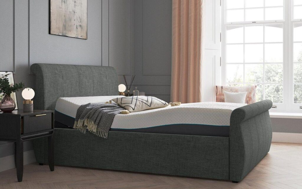 Lucia Bed Frame - Sleigh