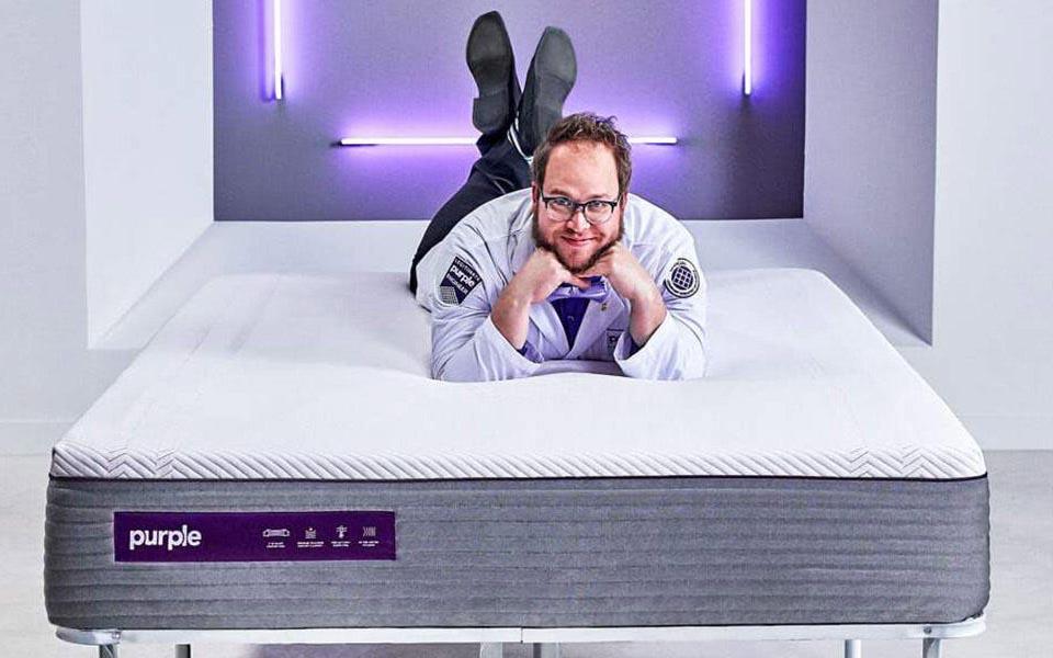 The Purple - upper back pain