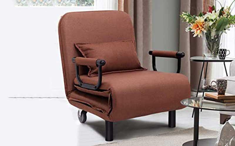 CASART Convertible Recliner Chair