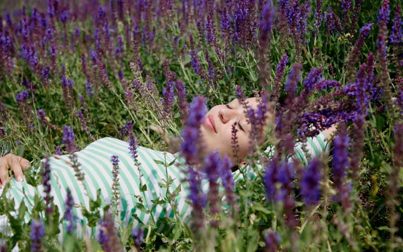How can you use lavender oil to help you sleep?