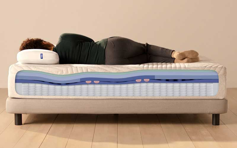 What are the drawbacks of a gel mattress?