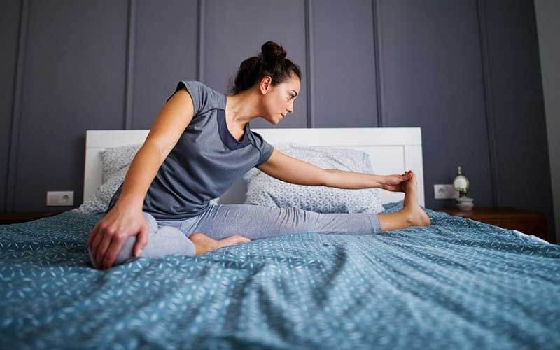 What kind of exercise is best before bed?
