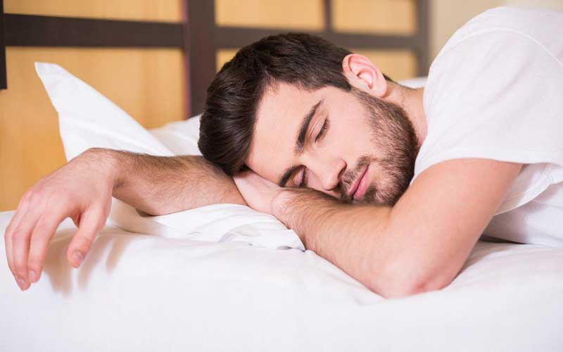 Sleep on your side to reduce snoring