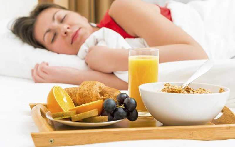 How to improve sleep and nutrition?