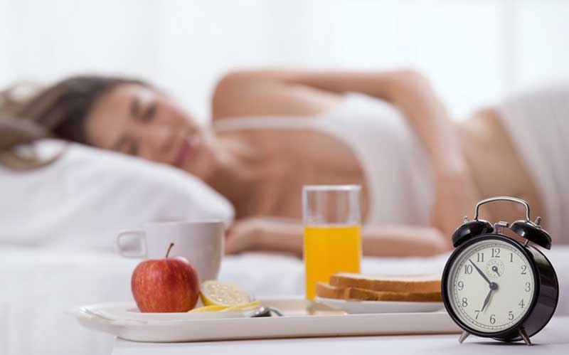 Does an unhealthy diet affect sleep disorders?