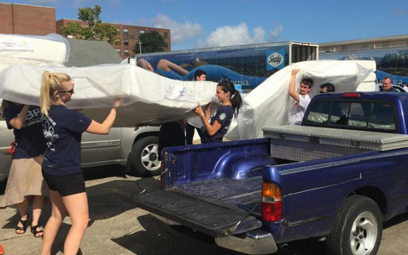 Donate your old mattress