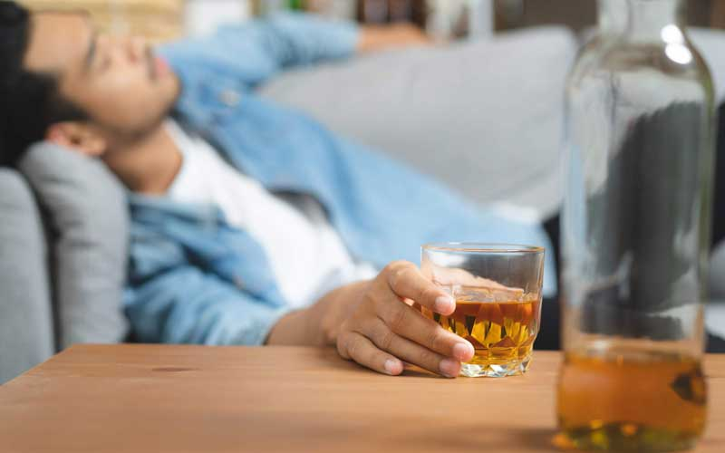 What time of day is best to have alcohol?