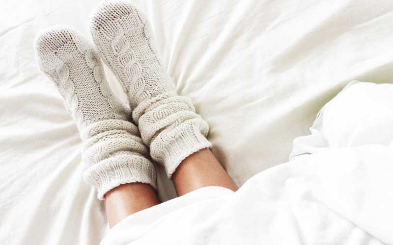 How to sleep better with a flu