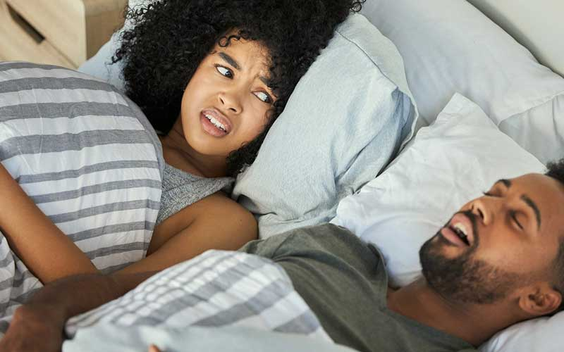 When should you speak with a doctor about snoring?