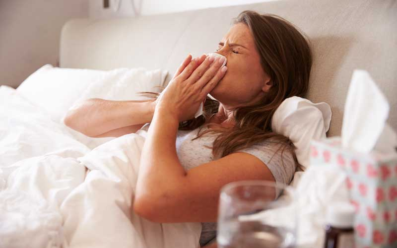 10 Ways to sleep better with a cold
