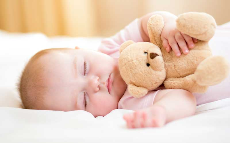 What can impacts babies rest?