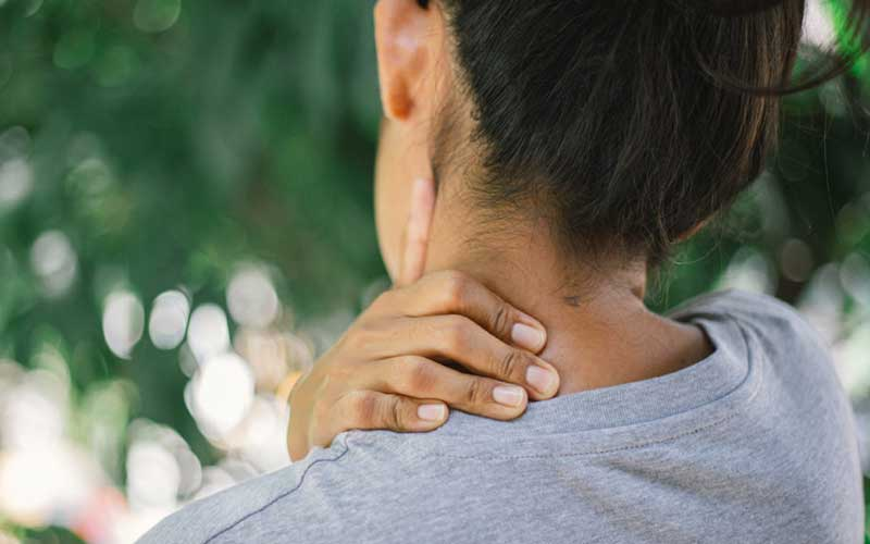 Why is neck pain a health problem?