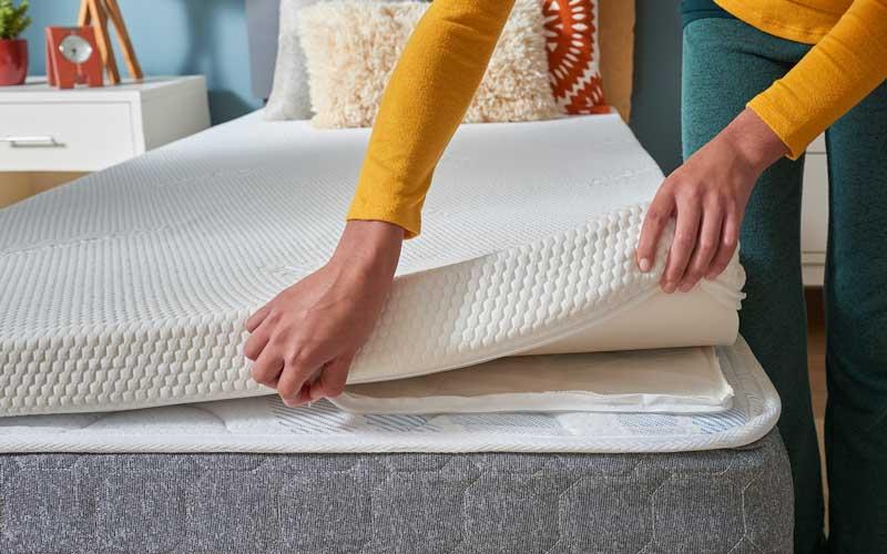 best density for memory foam mattress toppers